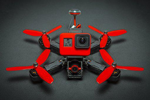 Drone, Quadrocopter, Hobby, Camera, Flying Object