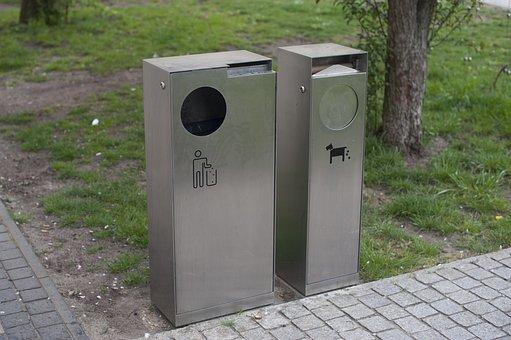 Recycle Bin, Recycling, Recycle, Garbage, Waste, Bin