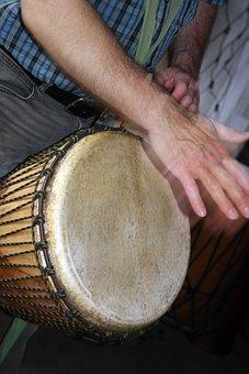 Drum, Djembe, Africa, Rhythm, Instrument, Music