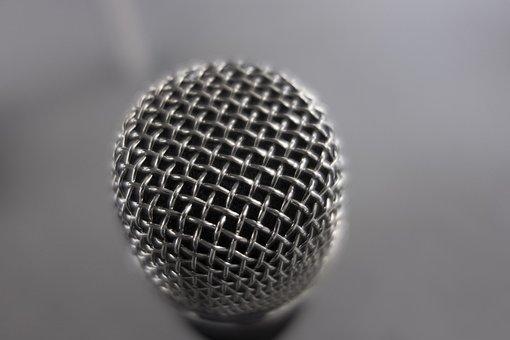 Microphone, Music, Talk, Sound Recording, Studio, Audio