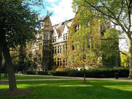 University Of Chicago, University, Architecture, Stone