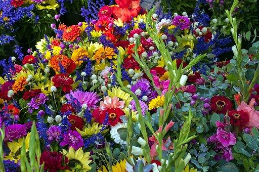 Madison Market Mixed Flowers, Sunflowers, Flowers