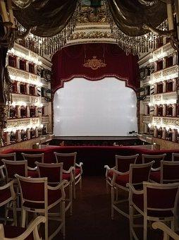 Theatre, Scene, Naples