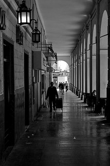 Street, City, Urban, Buildings, People, Architecture