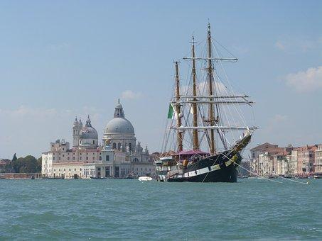 Venice, Architecture, Canal, Tourism, Gondola, Historic