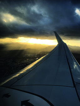 Aircraft, Wing, Flying, Sky, Aviation, Air, Vacations