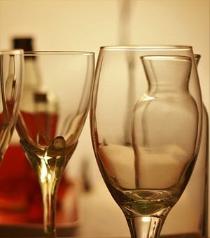 Wine, Glasses, Alcohol, Party, Drink, Glass, Champagne