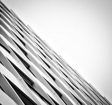 Facade, View, Architecture, Skyscraper, Sky, High