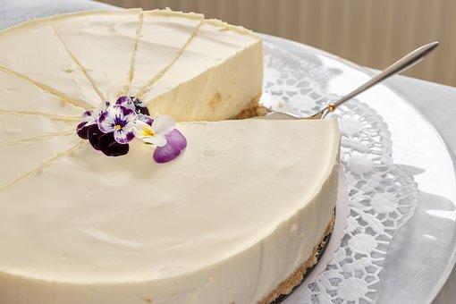 Cake, Philadelphia Cake, Cream, Food, Sweet, Calories