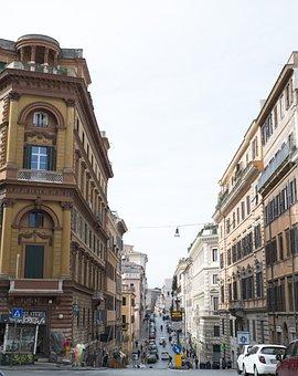 Roma, Denimira, Borisova, City, Cars, Buildings
