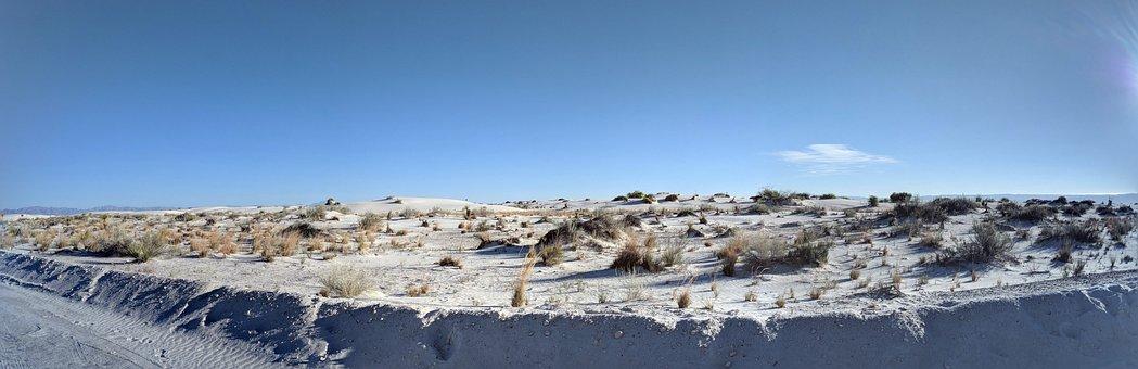 White Sands National Monument, Desert, Panoramic