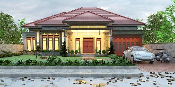 Minimalist, Ideal House, Elegant, Home Design