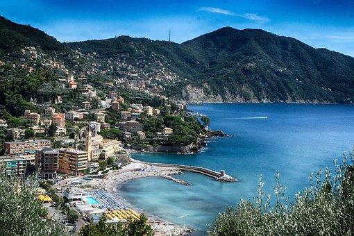Recco, Liguria, Holidays, Summer, Genoa, City, Sea