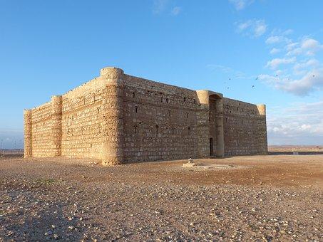 Jordan, Kharanah, Historically, Building, Castle