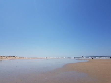 Sea, Atlantic, Island Of France, Beach