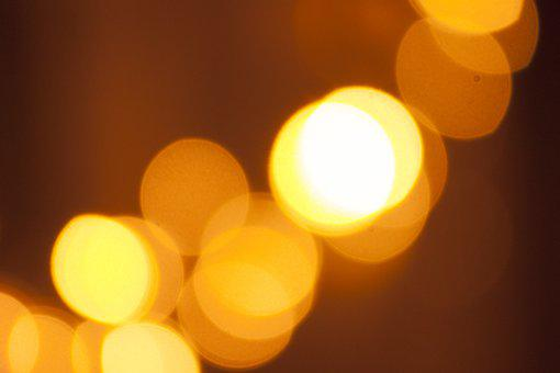 Bokeh, Light, Background, Abstract, Christmas, Magic