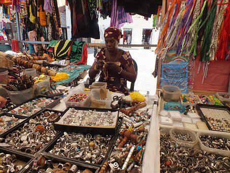 Market, Color, Colorful, Man