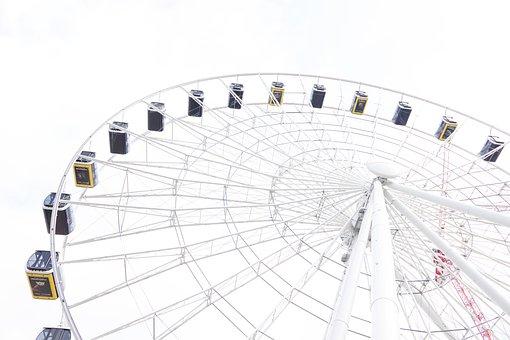 Ferris Wheel, Munich, Hi-sky, Bavaria, Ride, Sky