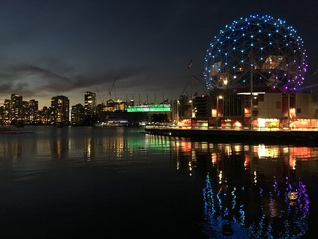 Vancouver, Downtown, Science World, Canada, City