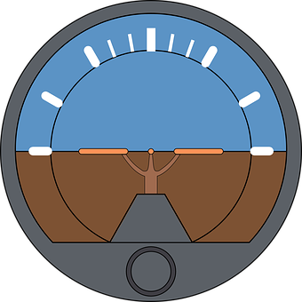 Attitude Indicator, Aviation, Artificial Horizon