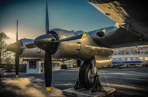 Propeller, Aircraft, Aviation, Oldtimer, Candy Bomber
