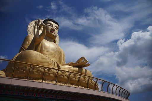 Temple, Buddhist, Buddha, Meditation, Buddhism, Asia