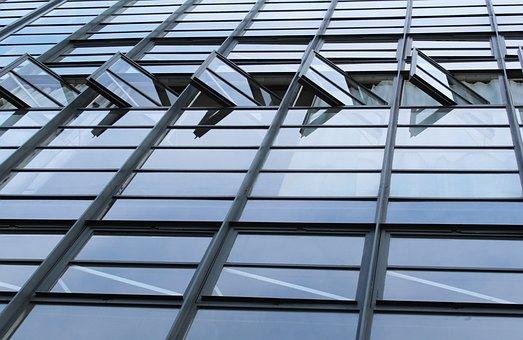 Bauhaus, Dessau, Window, Architecture, Gropius