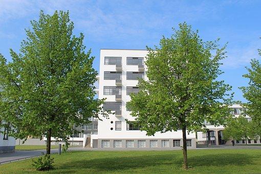 Bauhaus, Martin-gropius-bau, Dessau, Architecture