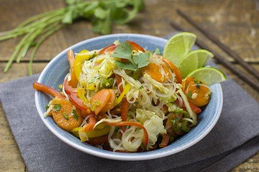 Glass Noodle Salad, Salad, Noodles, Asia, Eat, Cook