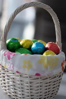 Easter, Easter Egg, Easter Eggs, Eggs, Basket