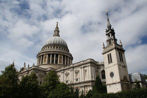 Saint Paul's Cathedral, England, Cathedral, Uk
