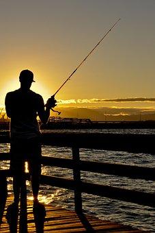 Fishing, Mar, Water, Fisherman, Holidays, People, Man