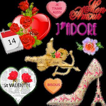 Valentine Clip Art, French Valentine