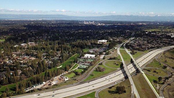 Freeway, Palo Alto, Menlo Park, Sand Hill Road, I-280