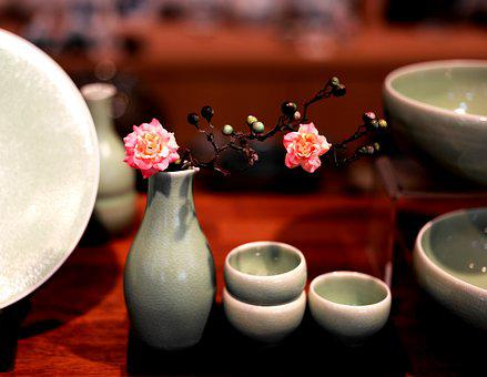 Ceramic, Ware, Porcelain, Cup, Tea, Coffee, Flower, Hot