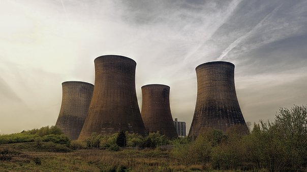 Cooling Towers, Industry, Cold, Power Plant