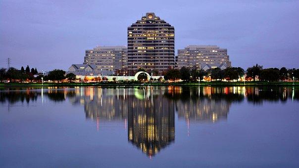 Buildings, Foster City, San Francisco Bay Area