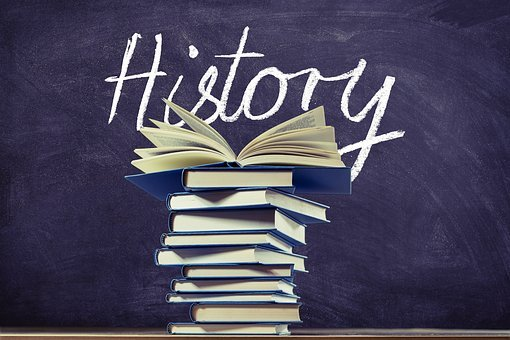 History, Past, Knowledge, Books, Board, Stack