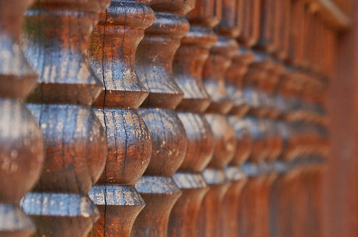 Limit, Wooden, Line, Fence, Turned, Structure