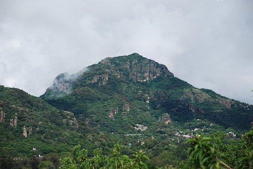 Montañas, Tepoztlan, Mexico, Mountain, Cerros