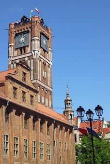 The Town Hall, Toruń, Poland, Monuments, Old