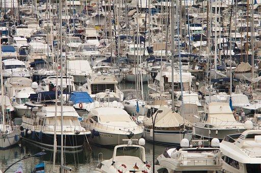 Port, Ship, Water, Transport, Coast, Pier, Ships
