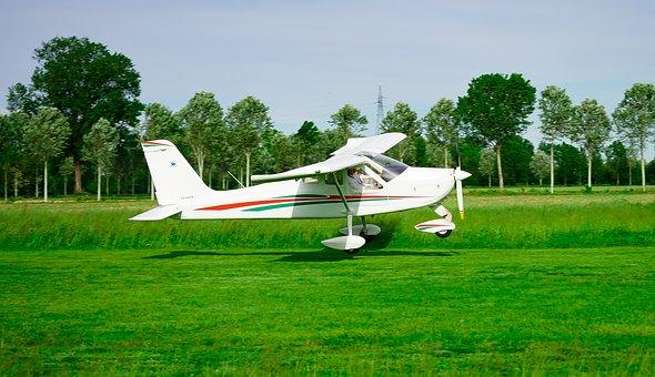 Plane, Ultralight, Flight, Aviation, Fly, Takeoff