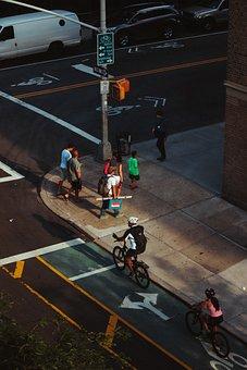 New York, City, Nyc, Urban, Manhattan, People, Street