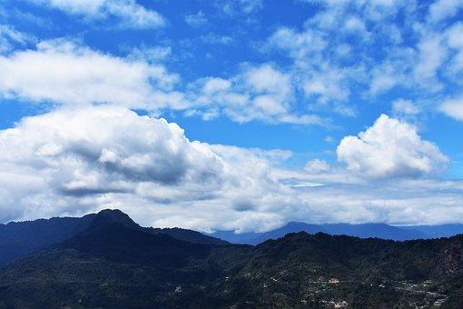 Hills, Clouds, Nature, Sky, Landscape, Summer