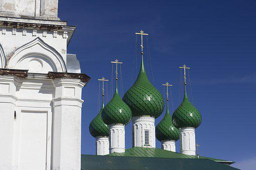 Architecture, Church, Temple, Russia, Faith, Belief
