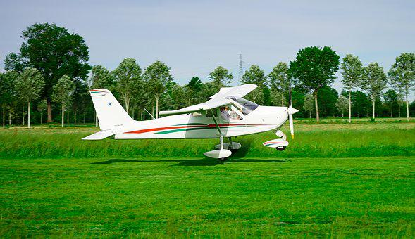 Plane, Ultralight, Flight, Aviation, Fly, Takeoff