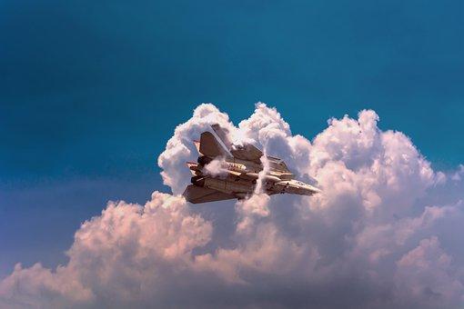 Navy, Aircraft, Jet, Fighter, Military, Sky, Flight