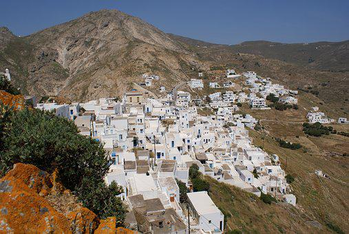 Village, Greece, Mediterranean, Island