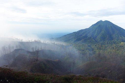 Indonesia, Ijen, Fog, Dangerous, Mine, Workaholic
